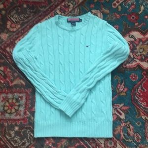 Vineyard vines cable sweater
